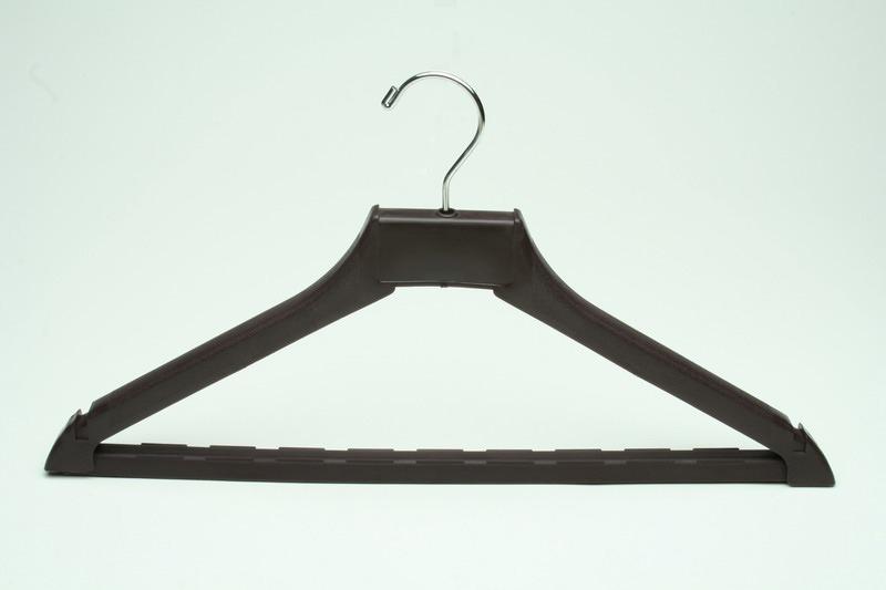 Bulk Amenities Heavy Duty Hook Hanger Dark Brown Plastic