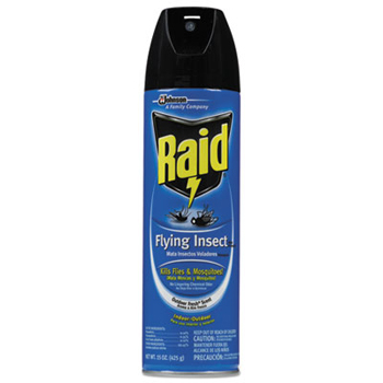 Bulk Amenities Raid Flying Insect Killer Aerosol Spray 15