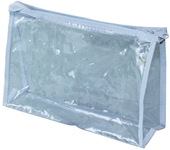 Clear Vinyl Zippered Pouch Hospitality Supplies Wholesale