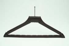 Heavy Duty Hotel Hanger w/ Ball Top