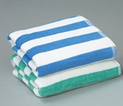 Striped Pool Towel 30X70 Hotel Linen Suppliers
