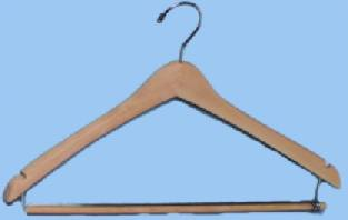 Mens Wood Hanger American Hotel Supply