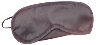 Black Nylon Eye Mask Wholesale Hotel Supplies