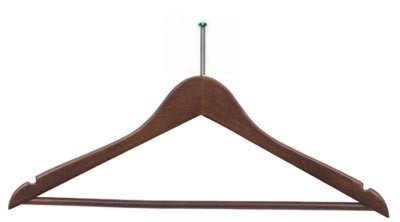 Wholesale Hotel Flat Suit Wood Hangers