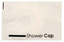 Shower Cap, in individual polybags, 2000/cs bulk motel supplies, Shower Cap, in individual polybags, 2000/cs, SC1, Freshscent