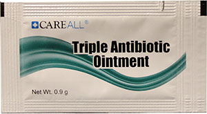 Triple Antibiotic Ointment Packet, 0.9 g, 1728 per case hotel supplies online, Triple Antibiotic Ointment Packet, 0.9 g, 1728 per case, TAOP9