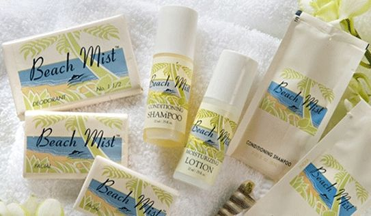 Beach Mist Hotel Shampoo and Conditioner Supplier