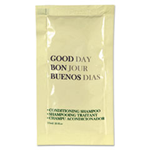 Good Day, Conditioning Shampoo Packets, 0.25 oz Tube, 500/Carton